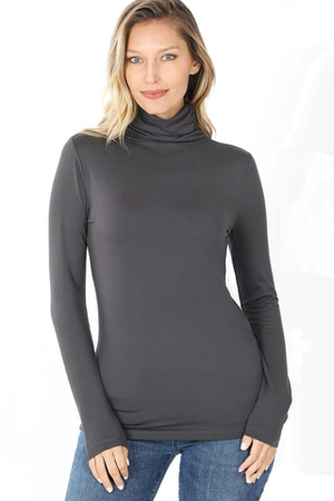 Naomi Mock Neck Top
