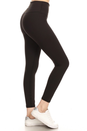 "Jett 5"" Tummy Control ActionSoft Solid Legging"