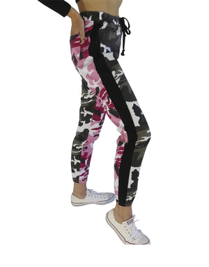 Camoflauge Breast Cancer Joggers