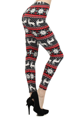 Christmas Leggings Curvy