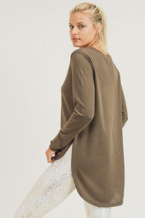 Hazel Long Sleeve Flow Top