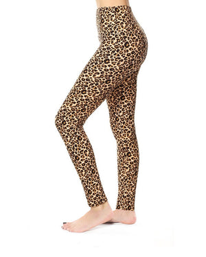 Lauren Leopard High Waist Curvy Legging