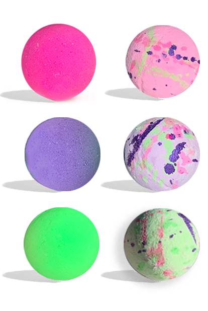 Ndulge Treasure Bath-Bombs - 6 Piece Set