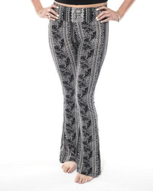 Feli High Waist Bell Bottom Pant