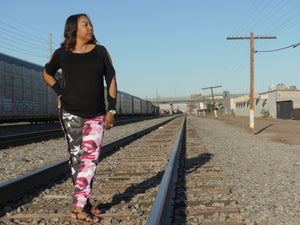 Jae Jae Breast Cancer Awareness Joggers