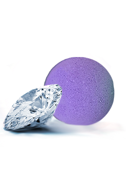 Purple Rain Treasure Bath Bomb