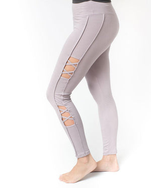 Savvy Cut-Out High Waist Lightweight Legging