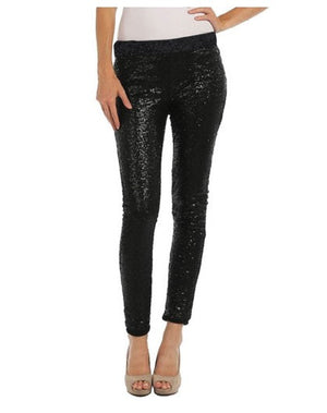 Eve Sequins Black