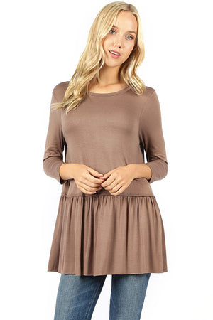 Aubree Baby Doll Top