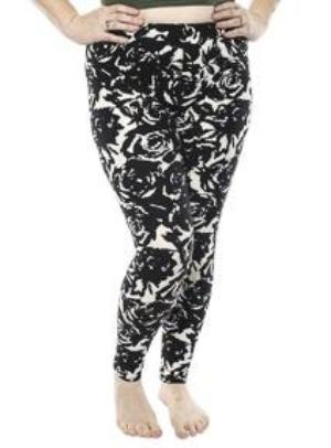 Blossom Curvy  Stripe Ultra Soft Legging