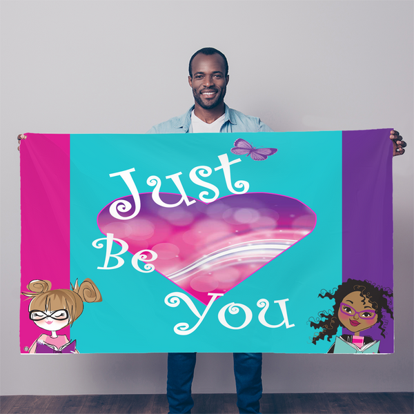 JustBeYou Sublimation Flag