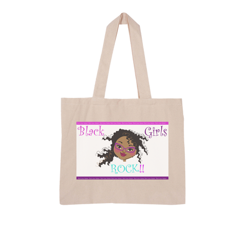 Black Girls Rock Large Organic Tote Bag