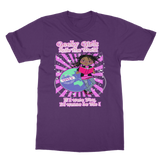 Geeky Girls Rule the World - Morgan Classic Heavy Cotton Adult T-Shirt