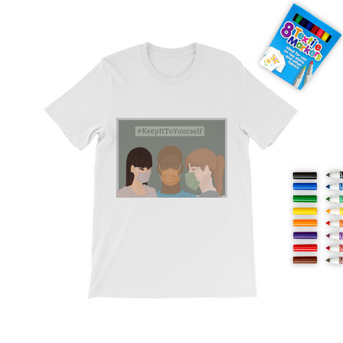 Covid 19-Coloring T-Shirt