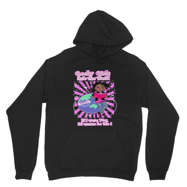 Geeky Girls Rule the World - Morgan Classic Adult Hoodie