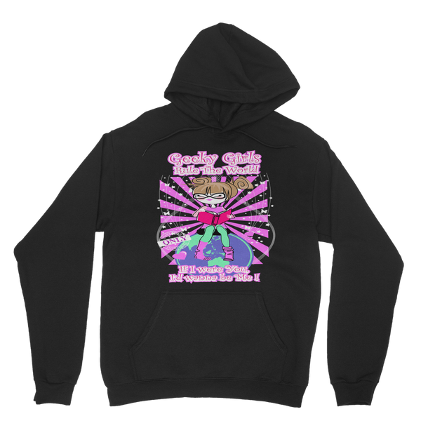 Geeky Girls Rule the World - Maryland Classic Adult Hoodie