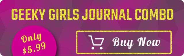 Geeky Girls Journal Combo