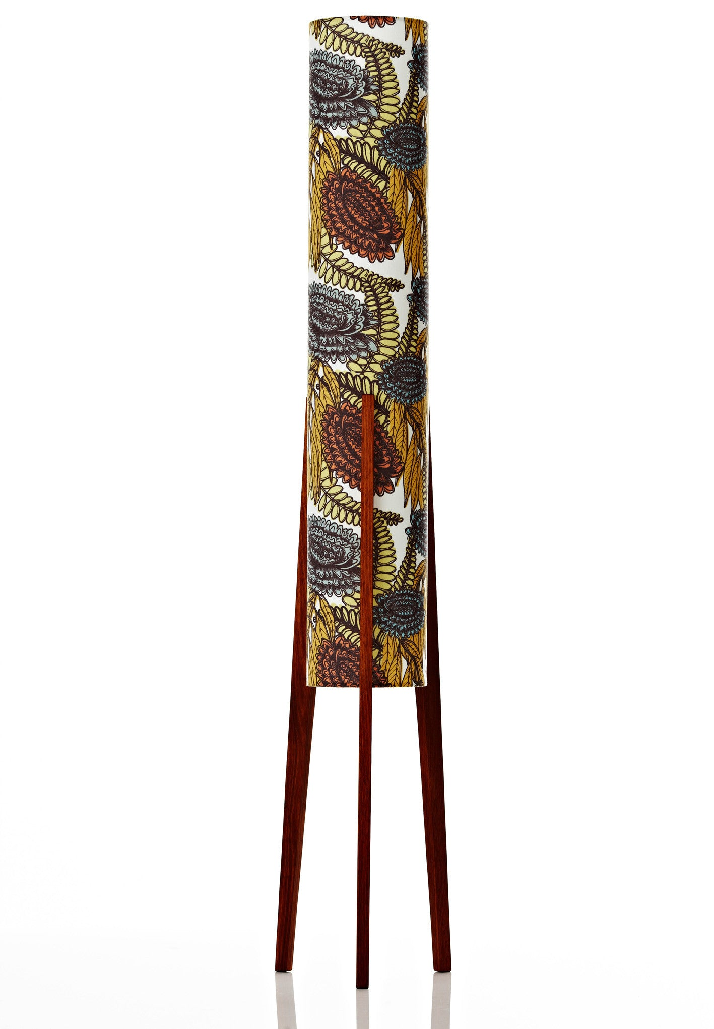 Rocket Floor Lamp Large - Wildflower Burnt