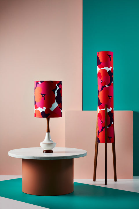 Rocket Floor Lamp Large - Malva Pink