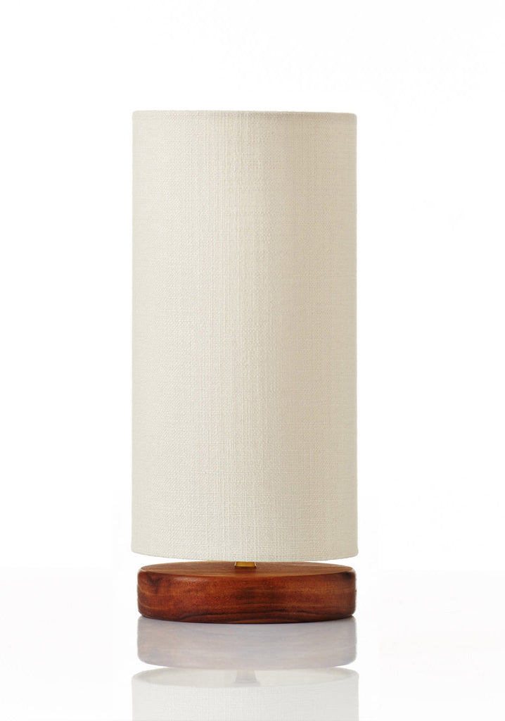 Disc Lamp Mini - Canvas White