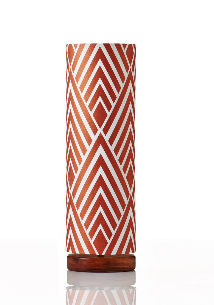 Disc Lamp Tall - Harlow Copper