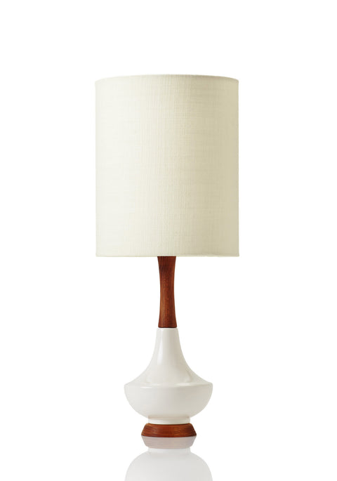 Electra Lamp Small - Canvas Oat