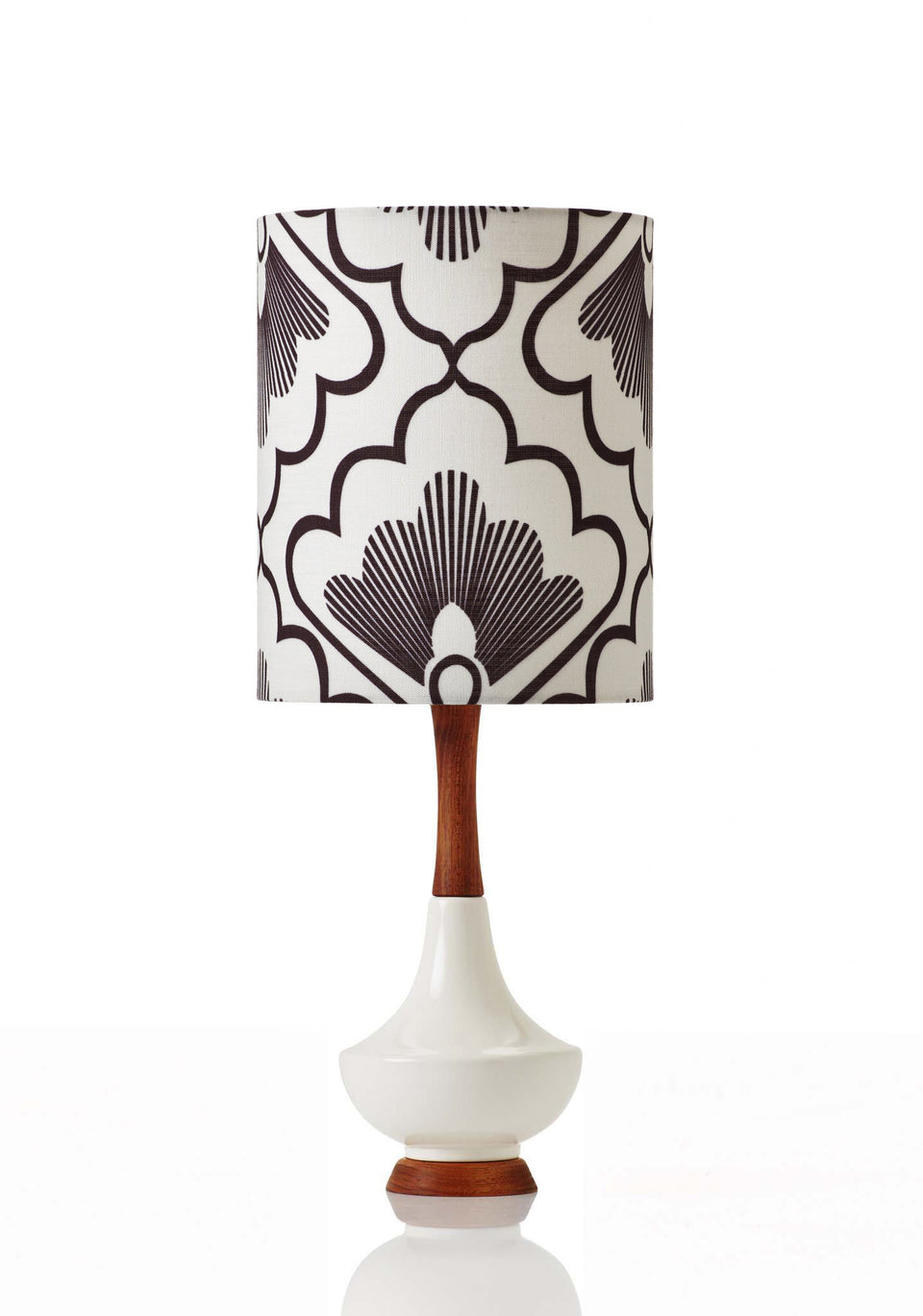 Electra Lamp • Small - Fan Coal