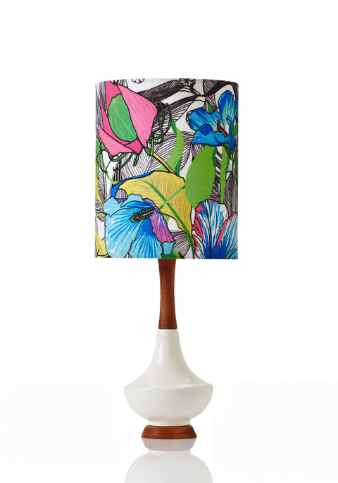Electra Lamp • Small - Botanica Poppy