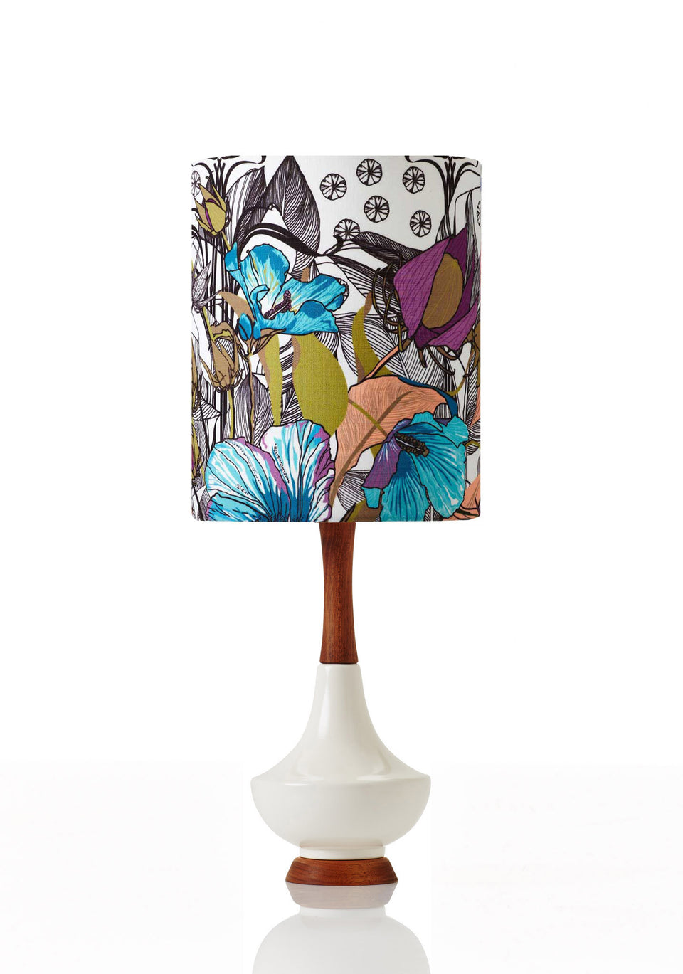 Electra Lamp • Small - Botanica Lotus