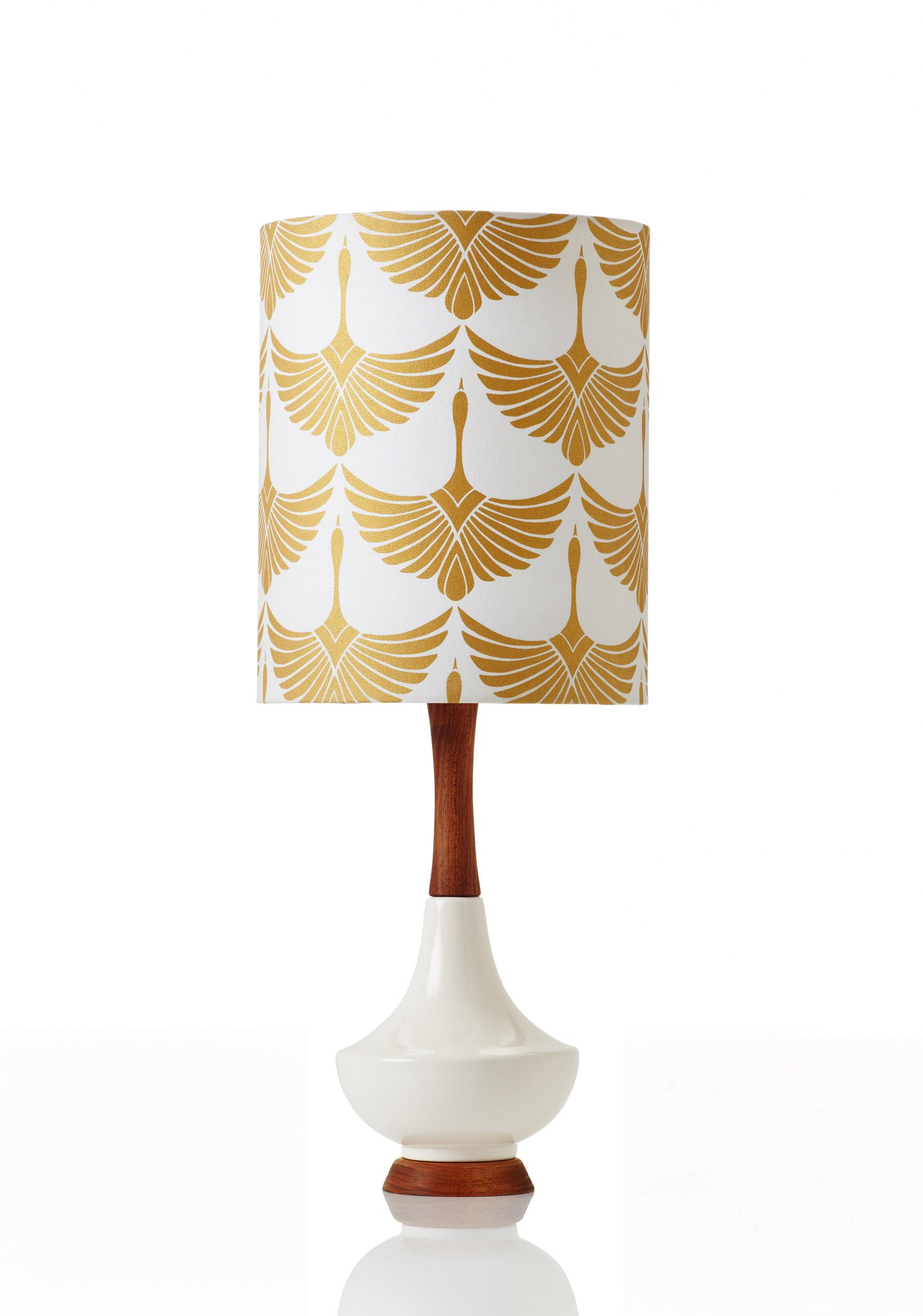 Electra Lamp Small - Swans Gold