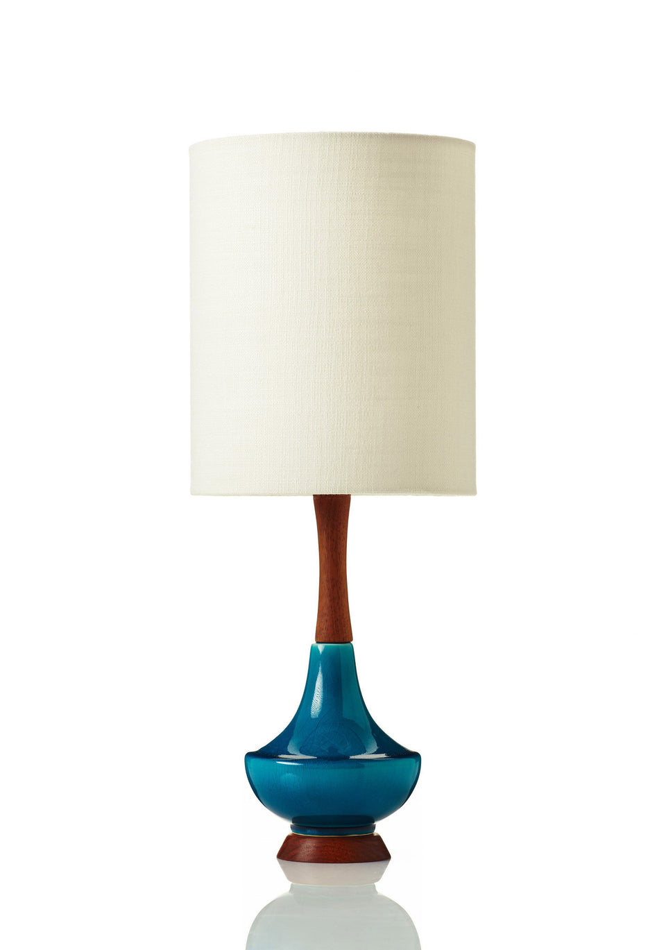 Electra Lamp • Small -  Bone Linen