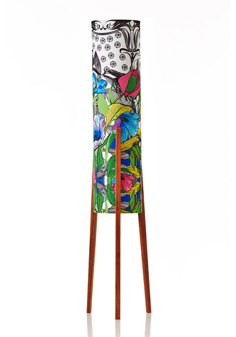 Rocket Floor Lamp Medium - Botanica Poppy
