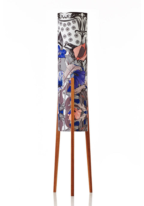 Rocket Floor Lamp Medium - Botanica Lily