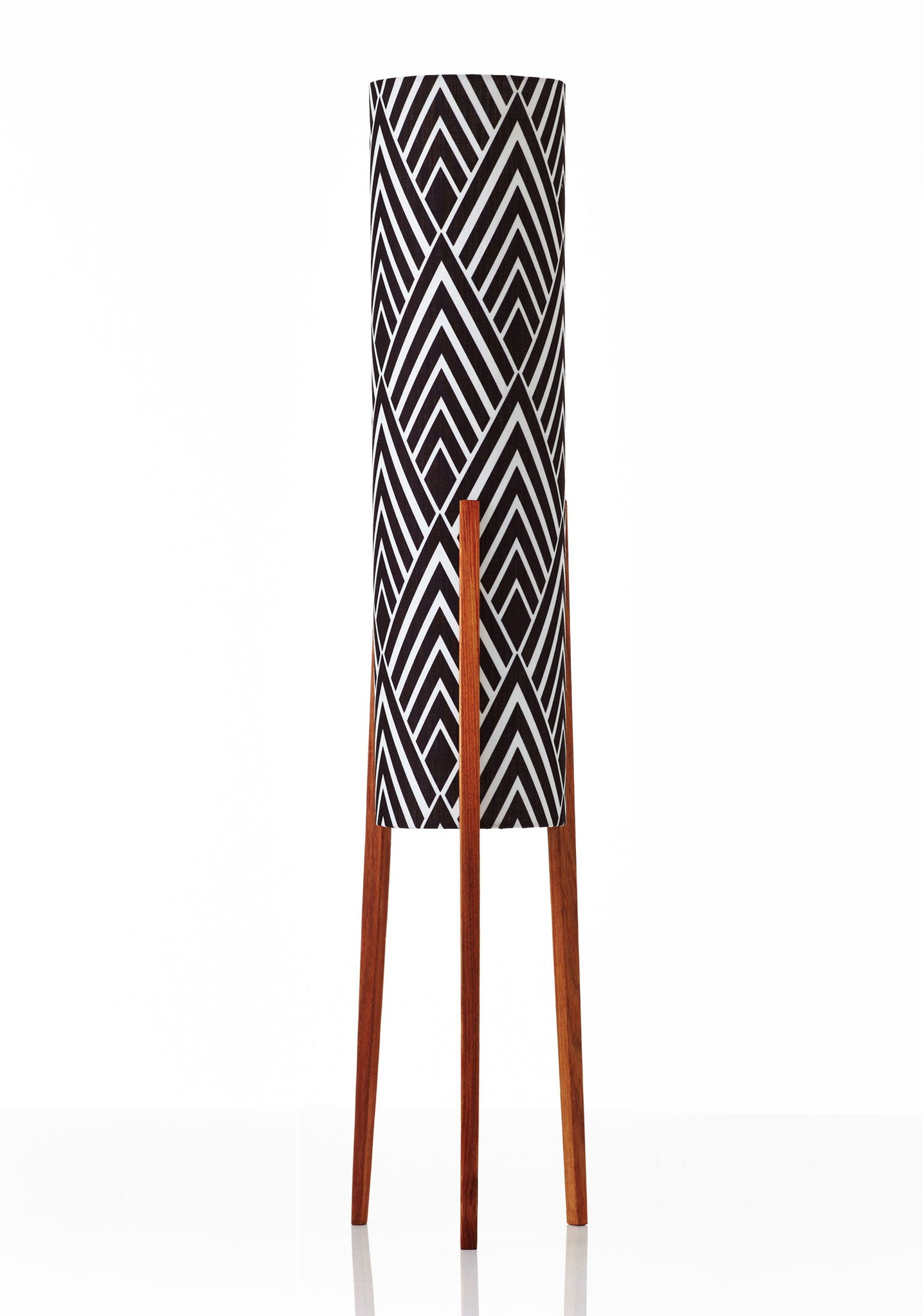 Rocket Floor Lamp Medium - Harlow Black