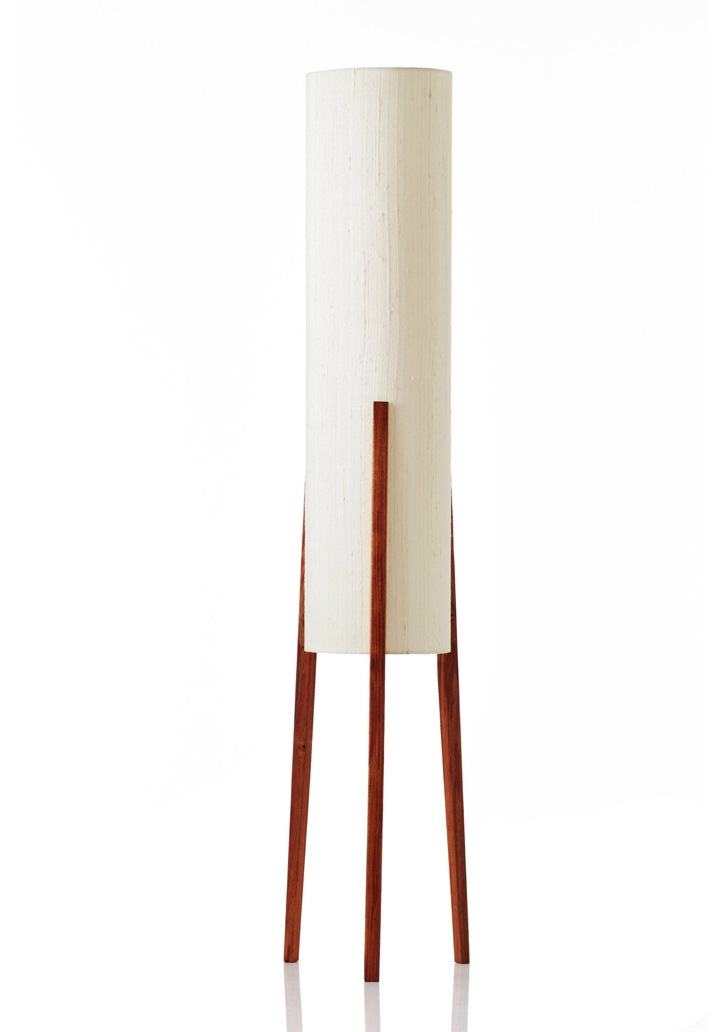 Rocket Floor Lamp Medium - Raw Silk Bone