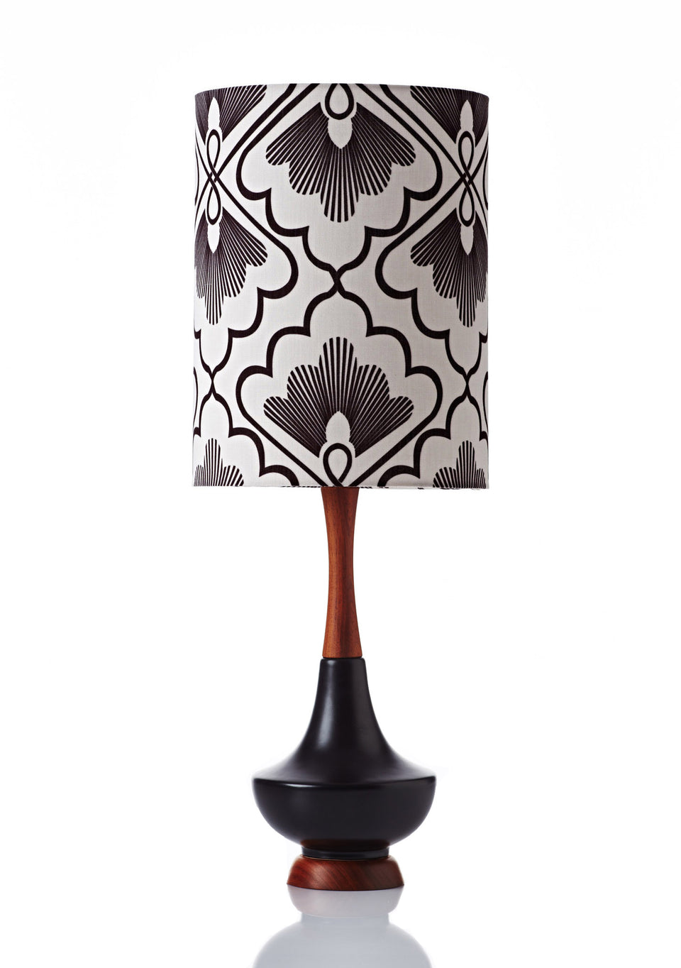 Electra Lamp • Large - Fan Coal