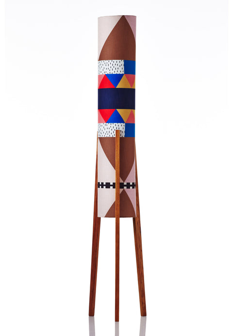 Rocket Floor Lamp Large - Love in Your Eyes