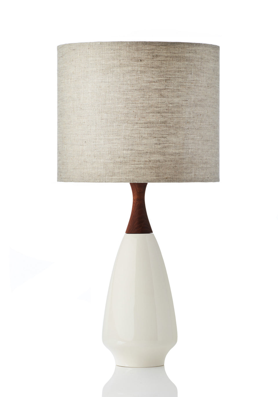 Ivy Lamp - Linen Natural