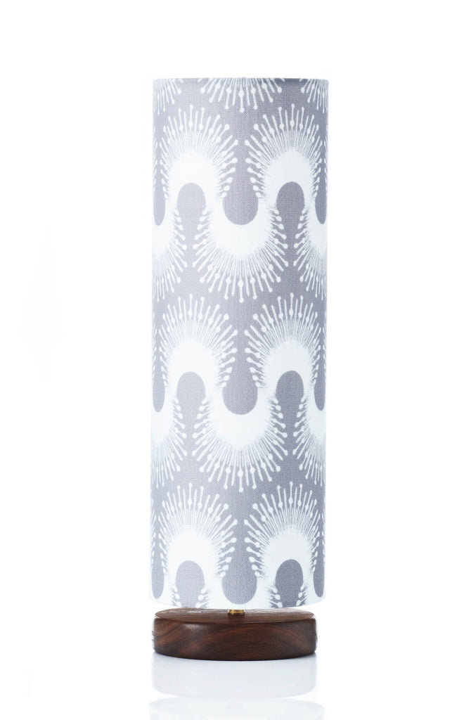 Disc Lamp Tall - Zig Zag