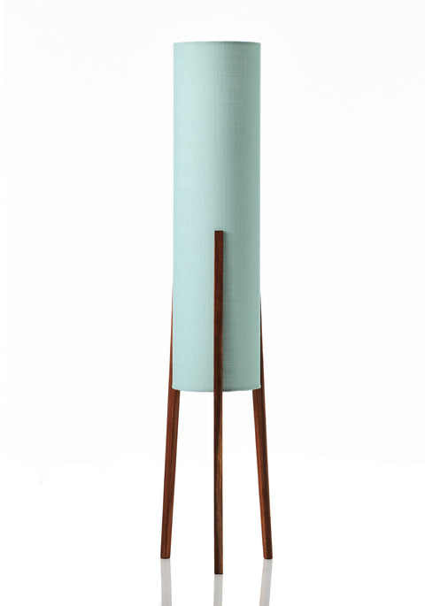 Rocket Floor Lamp Medium - Canvas Mint