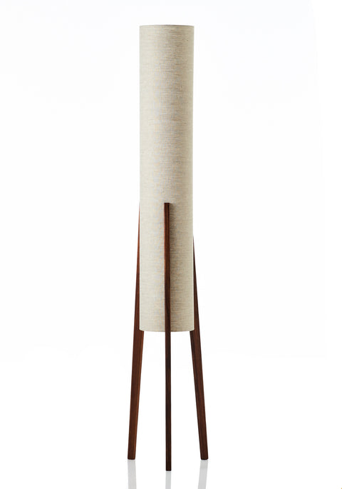 Rocket Floor Lamp • Large - Linen Natural