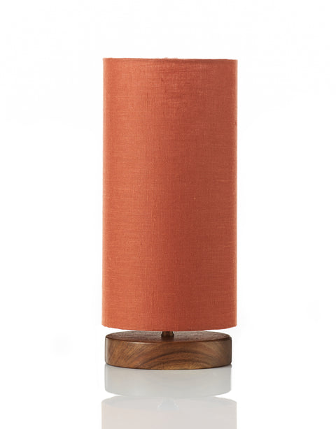 Disc Lamp Mini - Linen Terracotta