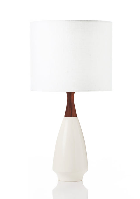 Ivy Lamp - Linen White