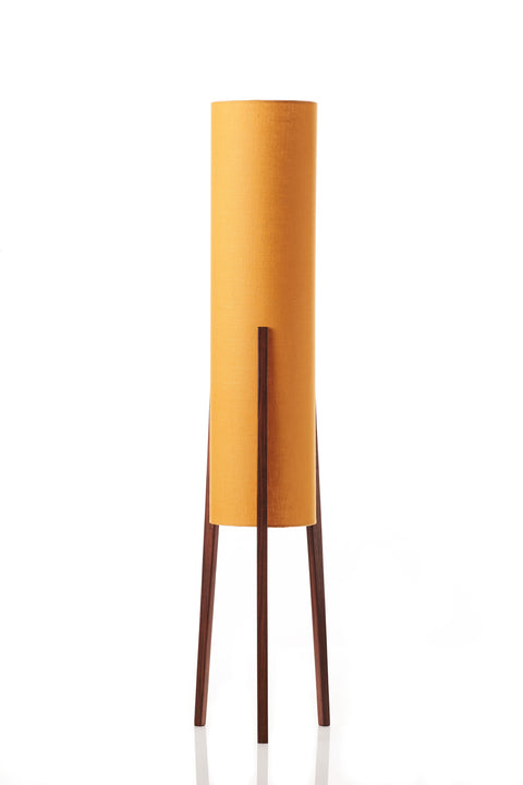 Rocket Floor Lamp Medium - Mustard Linen