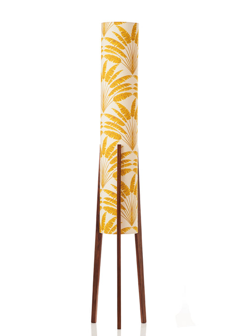 Rocket Floor Lamp Large -  Freya Mustard