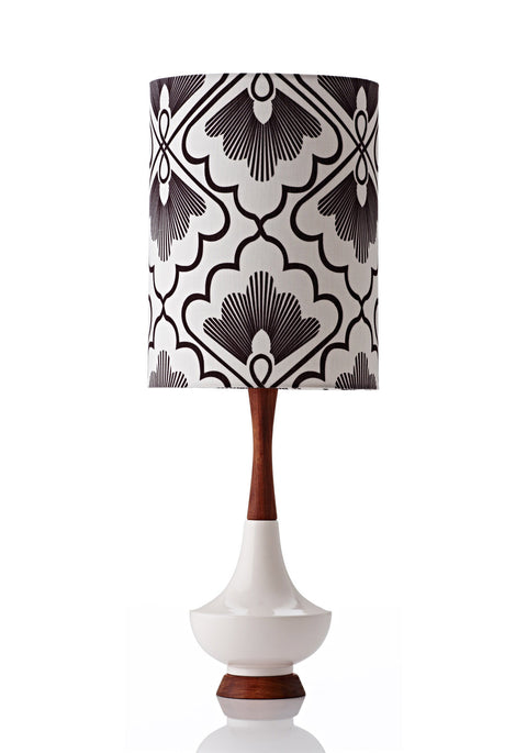 Electra Lamp Large - Fan Coal