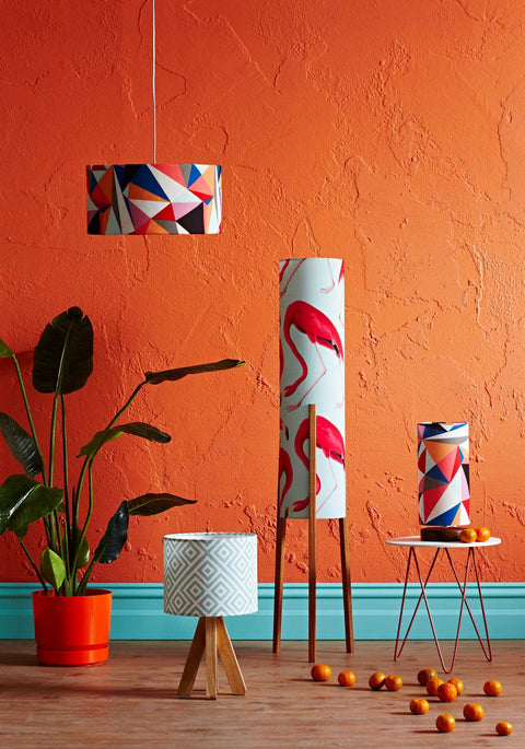 Rocket Floor Lamp Medium - Flamingo