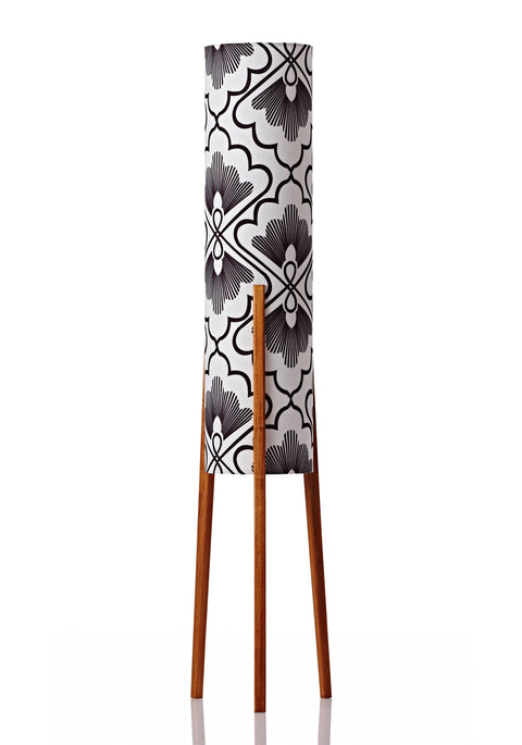 Rocket Floor Lamp Medium - Fan Coal