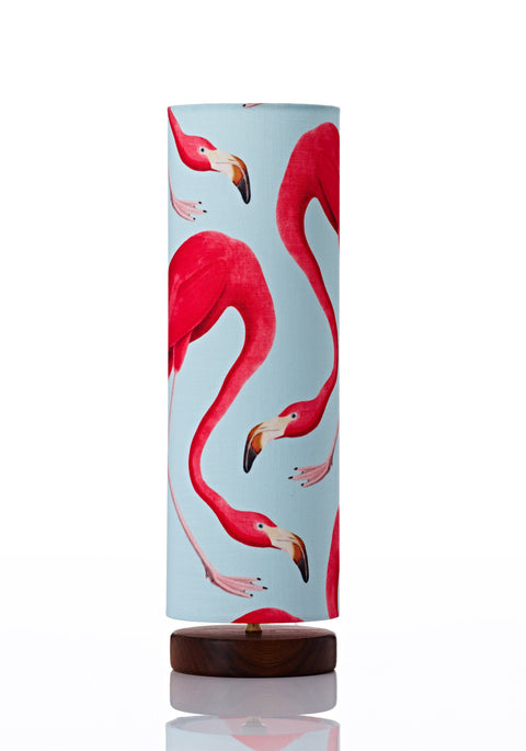 Disc Lamp Tall - Flamingo