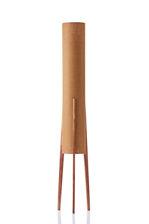 Rocket Floor Lamp • Large - Copper Hessian